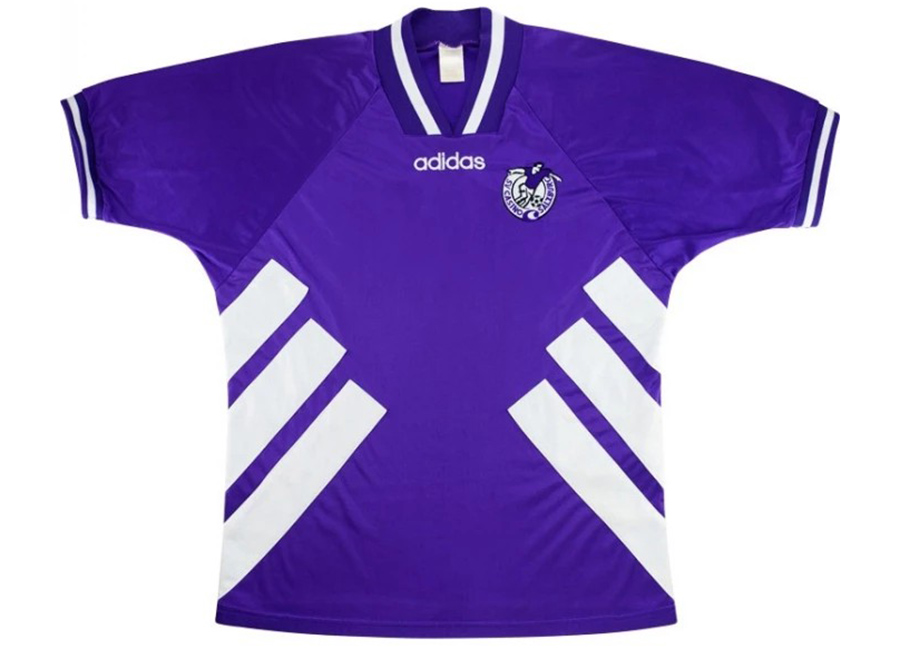 Adidas 1993-94 Casino Salzburg Match Issue Away Shirt