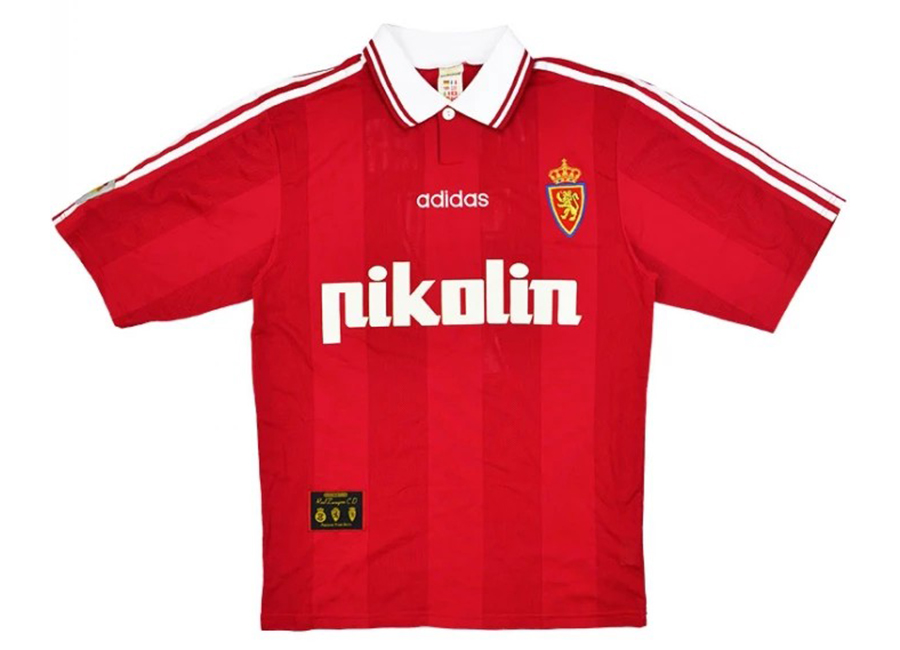 Adidas 1997-98 Real Zaragoza Match Issue Third Shirt