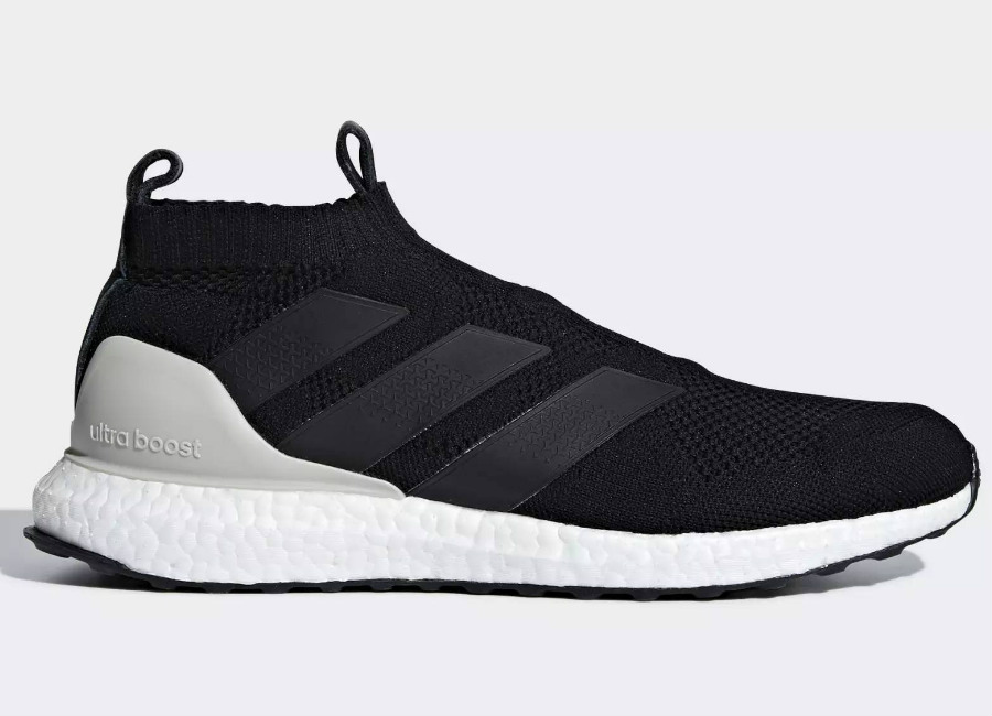 Adidas A 16+ Ultraboost Shoes - Core Black / Clear Brown / Dark Grey