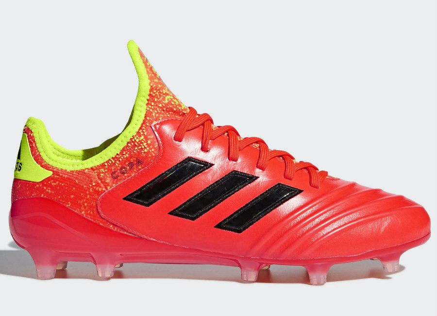 Adidas Copa 18.1 FG Energy Mode - Solar Red / Core Black / Solar Yellow