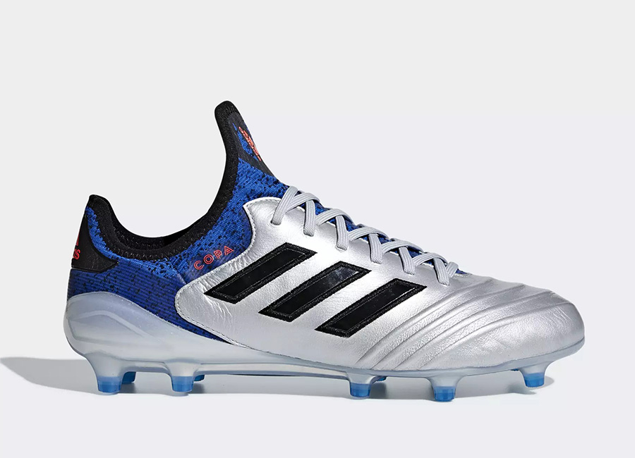 Adidas Copa 18.1 FG Team Mode - Silver Met / Core Black / Football Blue