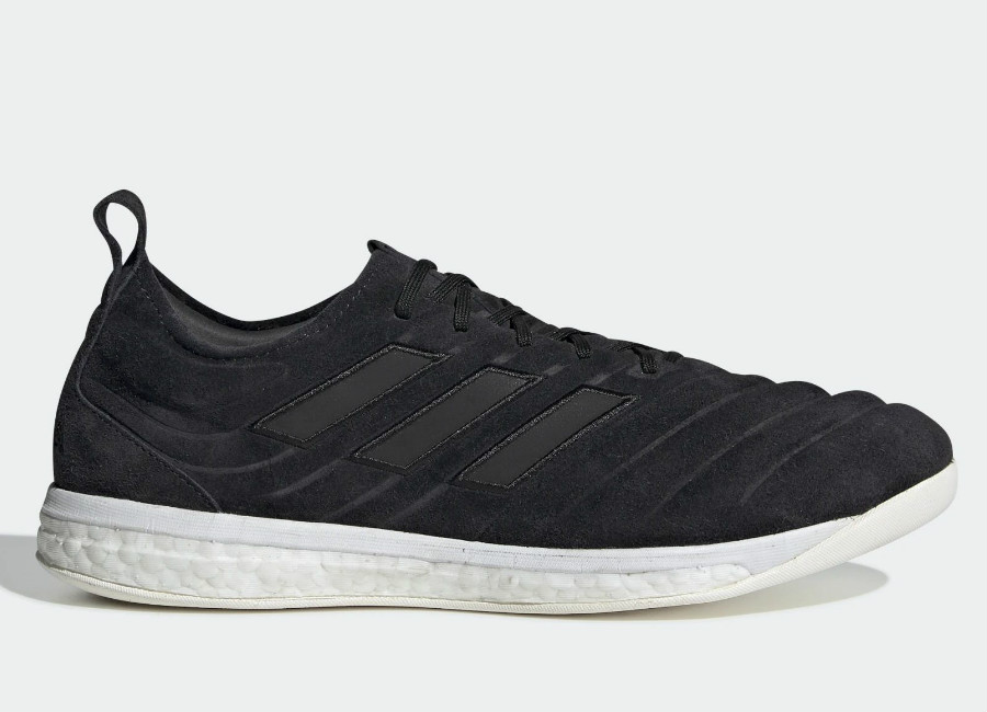 Adidas Copa 19+ Trainers - Core Black / Dgh Solid Grey / Solar Yellow