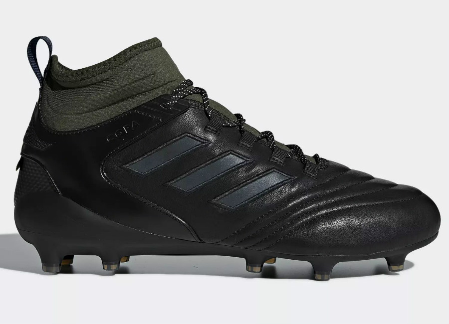 Adidas Copa Mid Firm Ground GTX Boots - Core Black / Dgh Solid Grey / Legend Ink