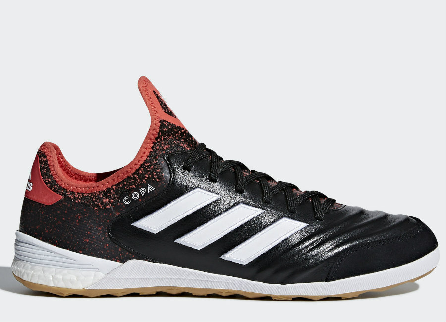 Adidas Copa Tango 18.1 IN Cold Blooded - Core Black / Ftwr White / Real Coral