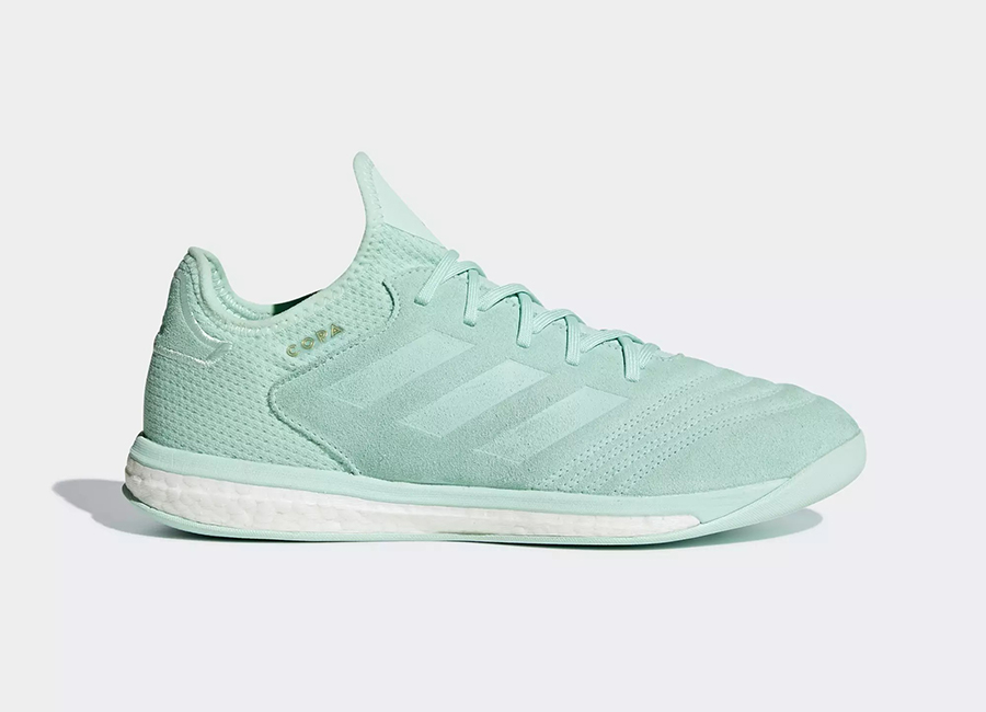 Adidas Copa Tango 18.1 Spectral Mode Trainers - Clear Mint / Clear Mint / Gold Met