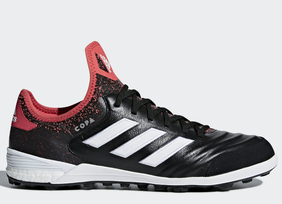 Adidas Copa Tango 18.1 TF Cold Blooded - Core Black / Ftwr White / Real Coral