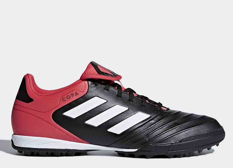 Adidas Copa Tango 18.3 TF Cold Blooded - Core Black / Ftwr White / Real Coral