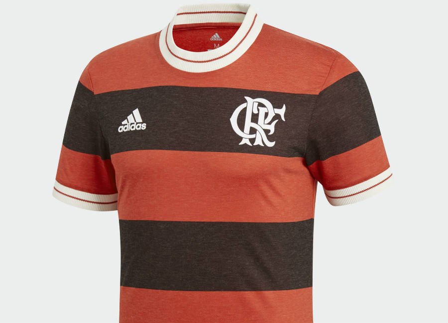 Adidas Flamengo Icon Jersey - Collegiate Red / Black