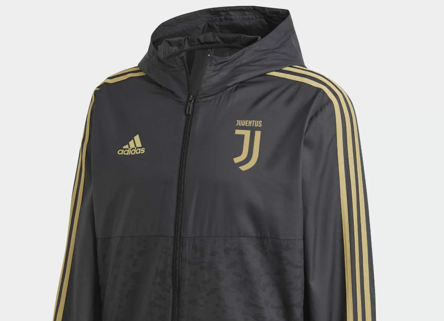 Adidas Juventus 2018-19 Windbreaker - Black