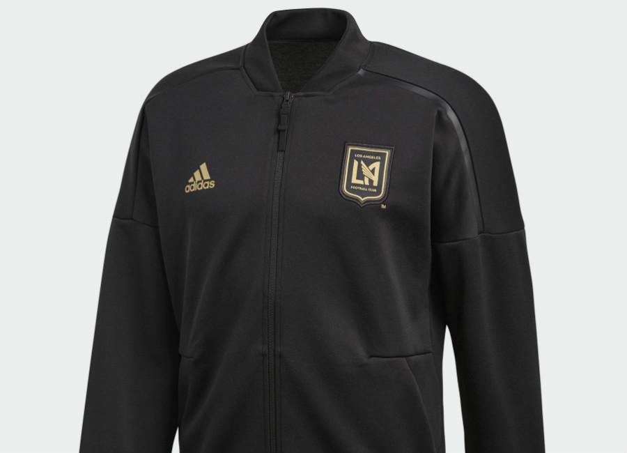 Los Angeles FC 2018 Adidas Z.N.E. Jacket - Black