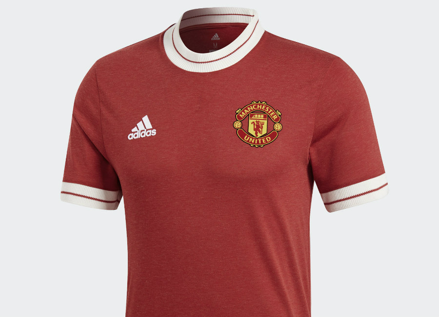 Adidas Manchester United Home Icon jersey - Real Red