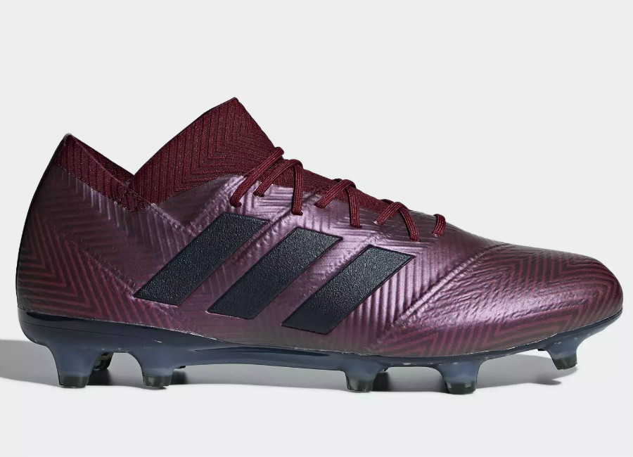 Adidas Nemeziz 18.1 FG Cold Mode - Maroon / Legend Ink / Collegiate Burgundy