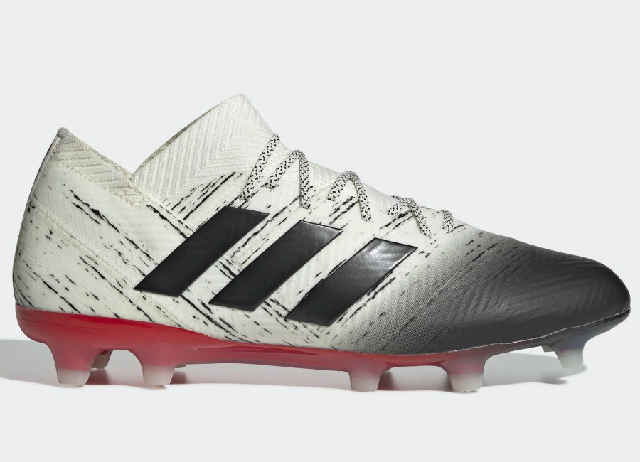 Adidas Nemeziz 18.1 FG Initiator - Off White / Core Black / Active Red