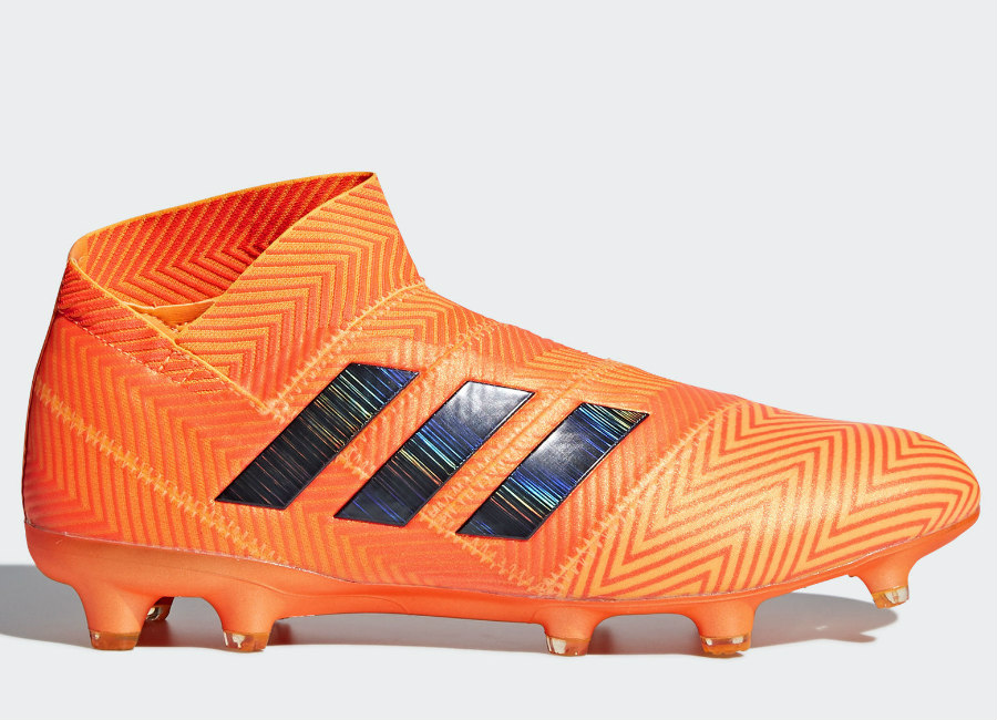 Adidas Nemeziz 18+ FG Energy Mode - Zest / Core Black / Solar Red