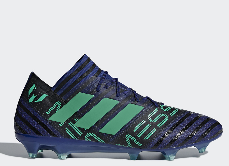 Adidas Nemeziz Messi 17.1 FG Deadly Strike - Unity Ink / Hi-Res Green / Core Black