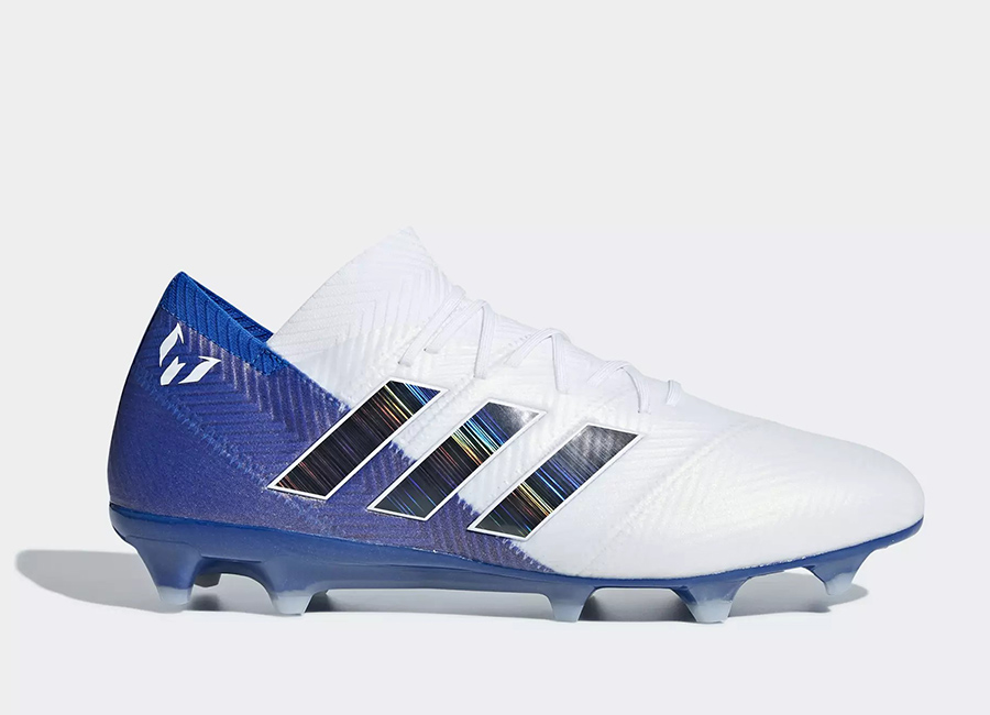 Adidas Nemeziz Messi 18.1 FG Team Mode - Ftwr White / Core Black / Football Blue
