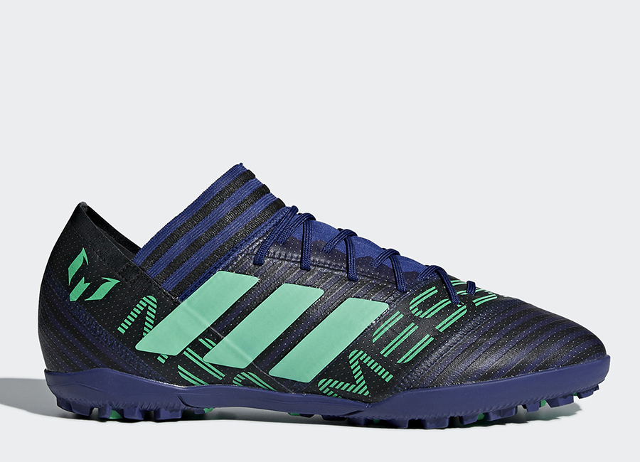 Adidas Nemeziz Messi Tango 17.3 TF Deadly Strike - Unity Ink / Hi-Res Green / Core Black