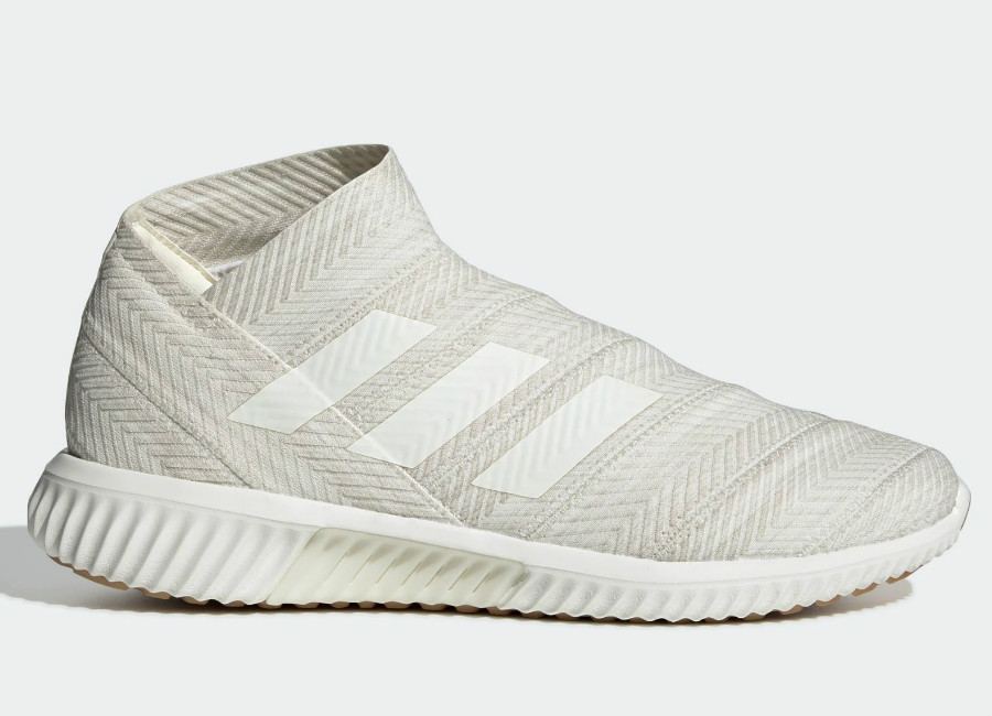 Adidas Nemeziz Tango 18.1 Initiator Trainers - Off White / Off White / Clear Brown