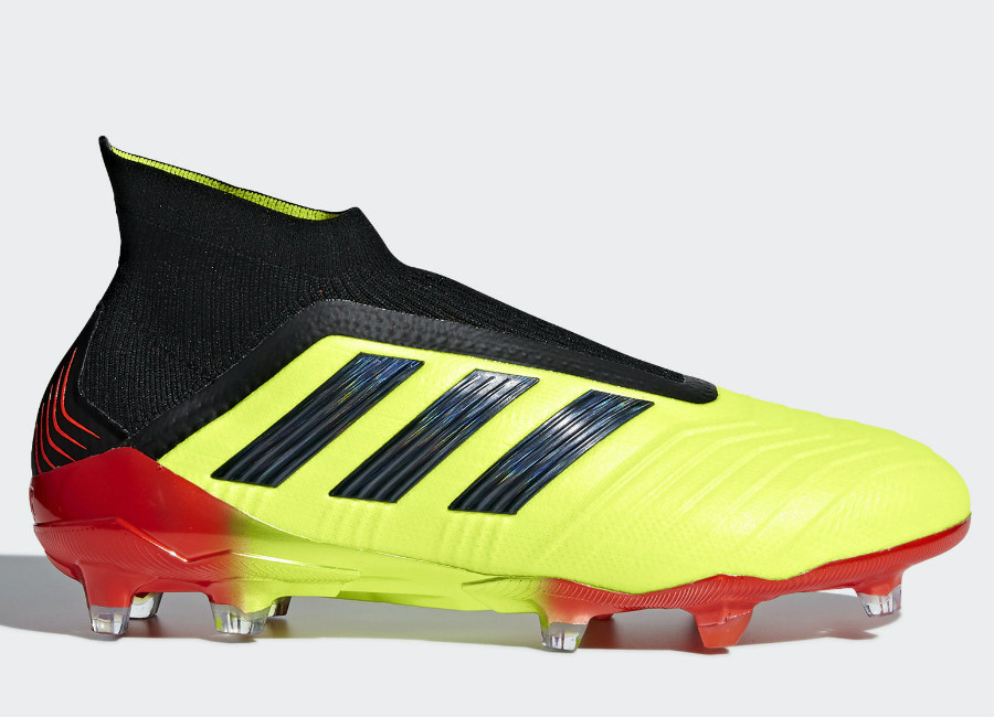 Adidas Paul Pogba Predator 18+ Fg Energy Mode - Solar Yellow / Core Black / Solar Red