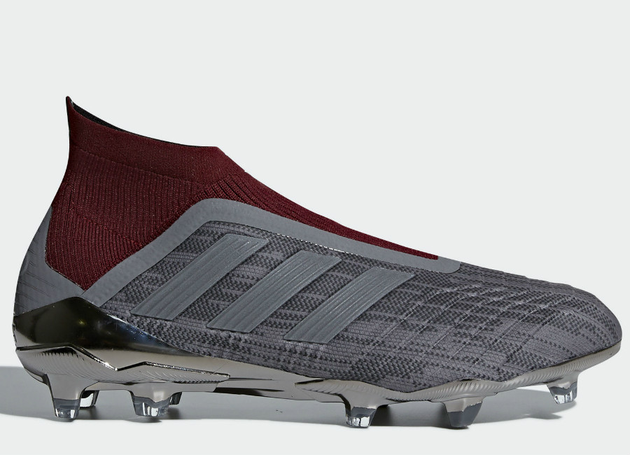 Adidas Paul Pogba Predator 18+ FG - Iron Metallic / Iron Metallic / Iron Metallic