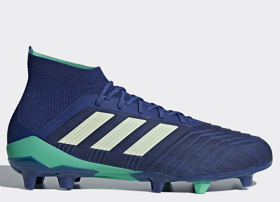 Adidas Predator 18.1 FG Deadly Strike - Unity Ink / Aero Green / Hi-Res Blue
