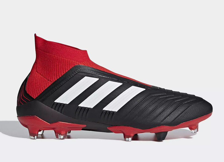 Adidas Predator 18.1 FG Team Mode - Core Black / Ftwr White / Red