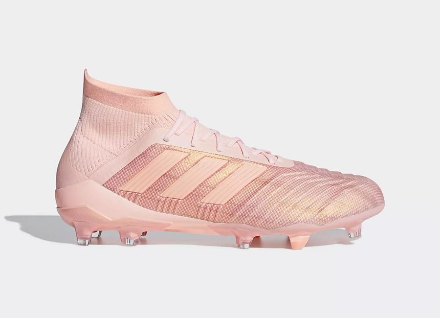 Adidas Predator 18.1 Firm Ground Boots Spectral Mode - Clear Orange / Clear Orange / Trace Pink
