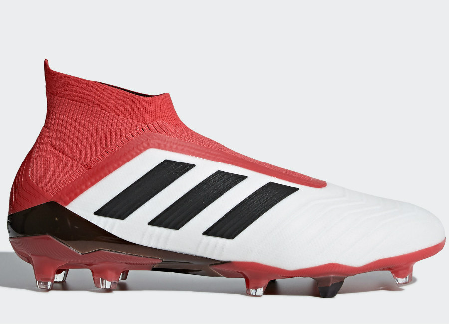 Adidas Predator 18+ FG Cold Blooded - Ftwr White / Core Black / Real Coral
