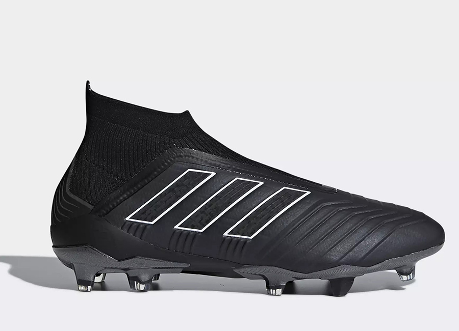 Adidas Predator 18+ FG Shadow Mode - Core Black / Core Black / Ftwr White