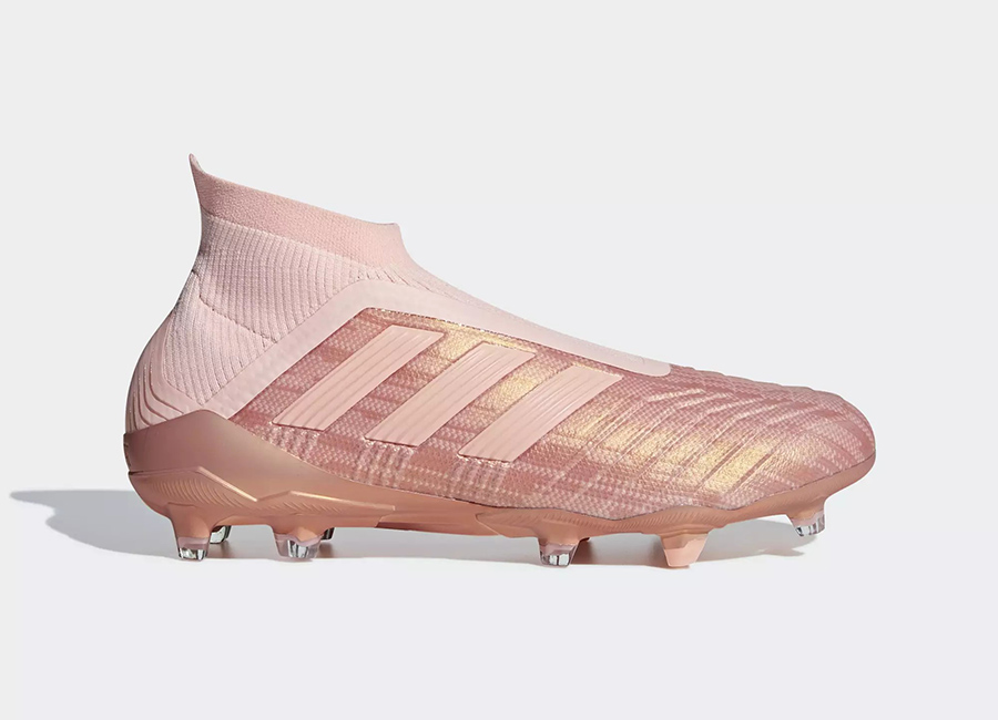 Adidas Predator 18+ Firm Ground Spectral Mode - Clear Orange / Clear Orange / Trace Pink