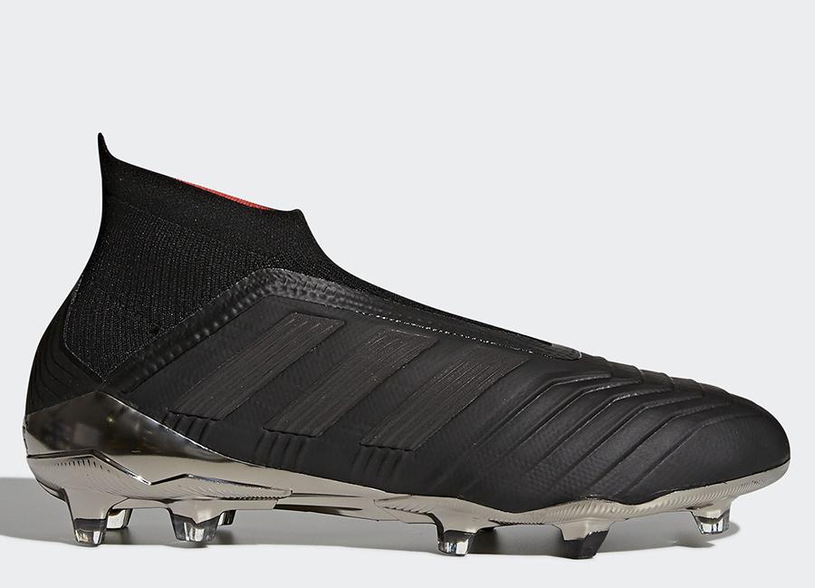 Adidas Predator 18+ Nite Crawler - Core Black / Core Black / Real Coral