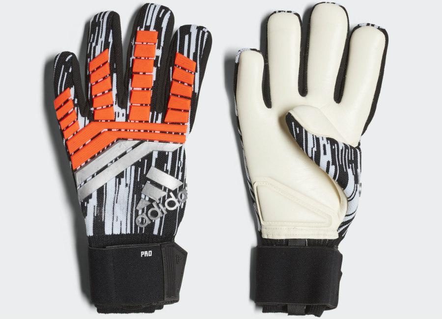 Adidas Predator 18 Pro Manuel Neuer Gloves - Solar Red / Black