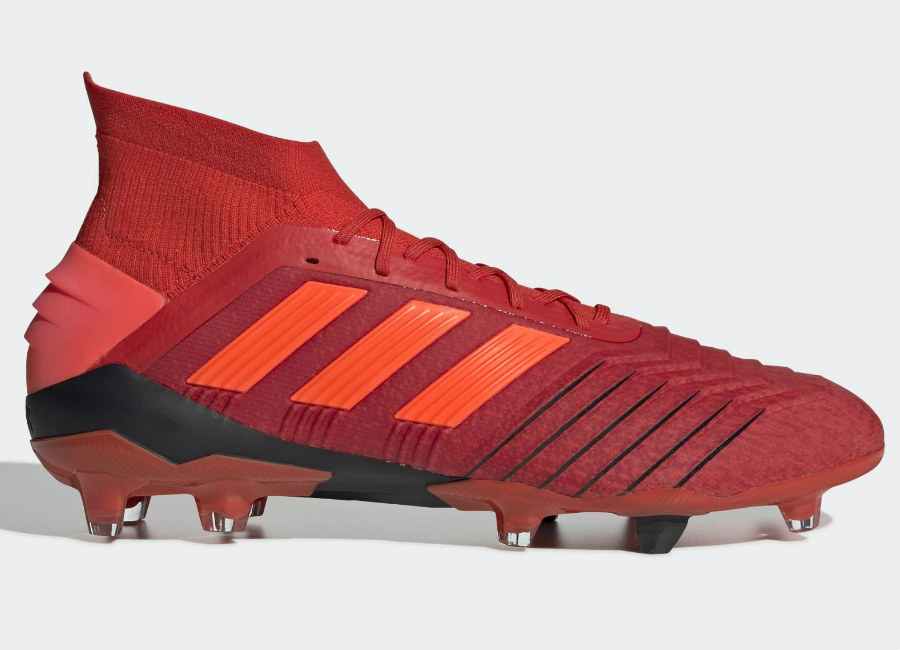 Adidas Predator 19.1 FG Initiator - Active Red / Solar Red / Core Black