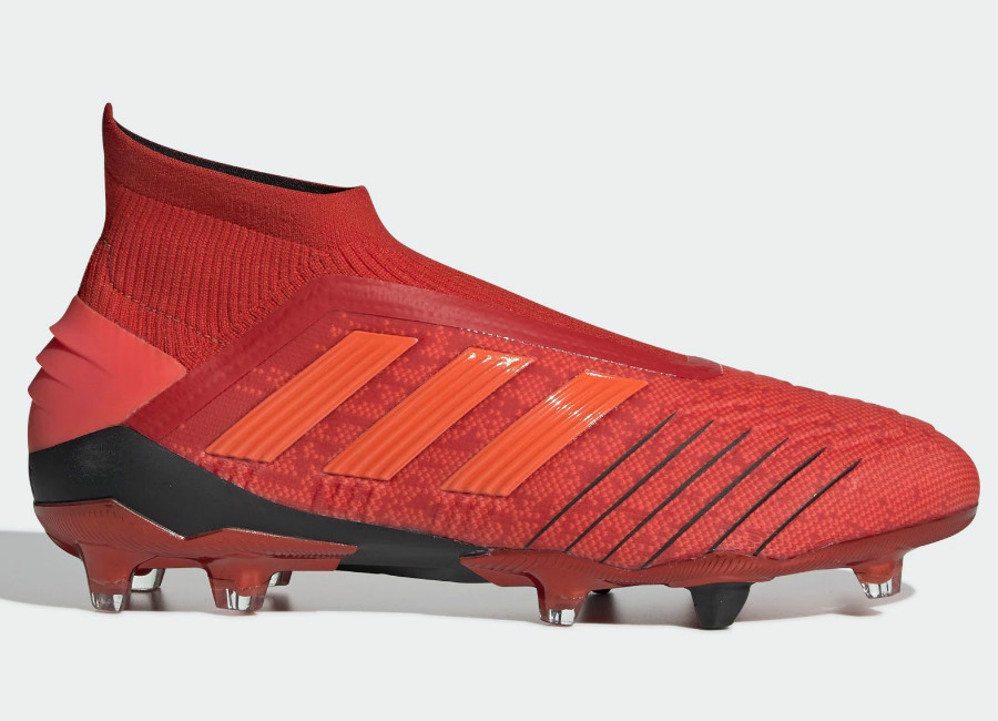 Adidas Predator 19+ FG Initiator - Active Red / Solar Red / Core Black
