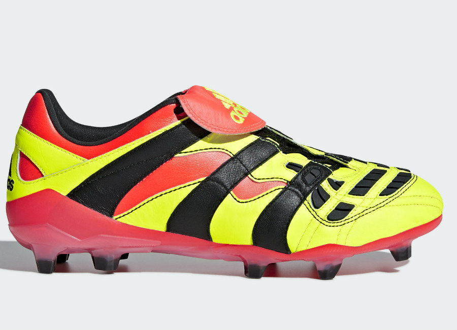 Adidas Predator Accelerator FG - Solar Yellow / Core Black / Solar Red