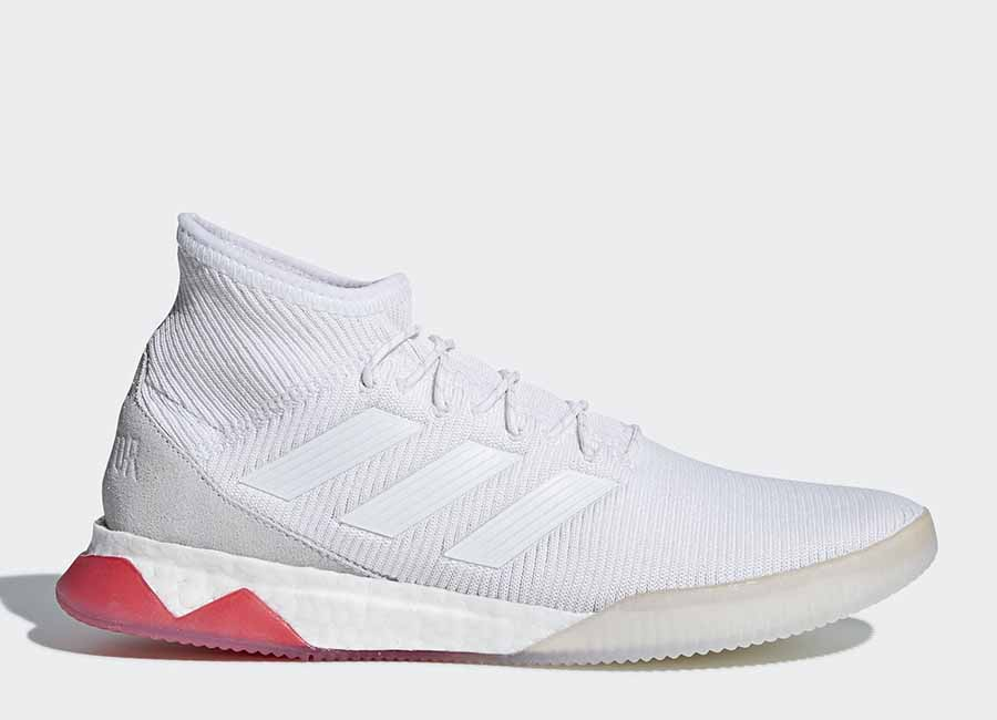 Adidas Predator Tango 18.1 Trainers - Ftwr White / Ftwr White / Real Coral