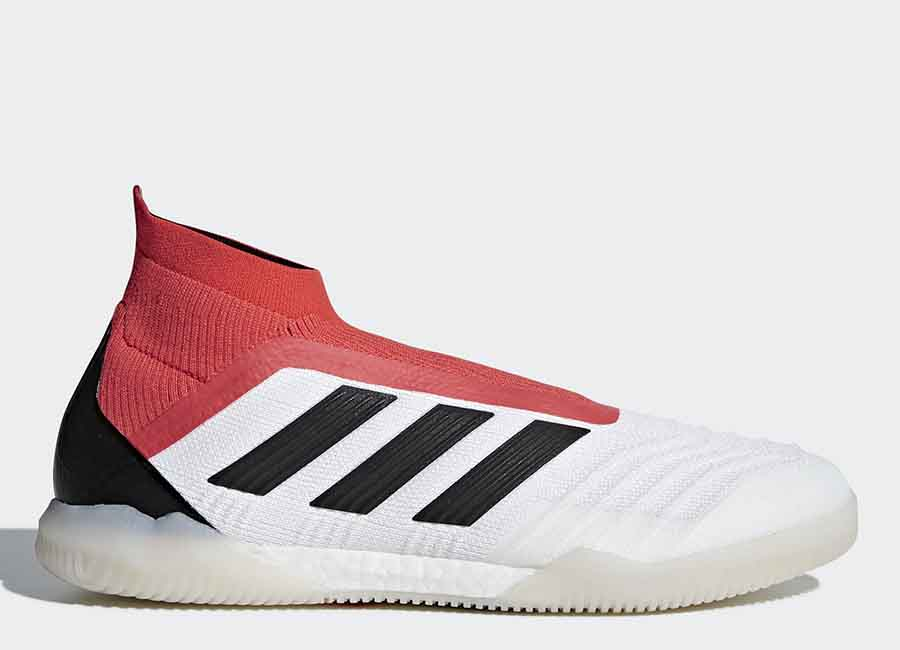 Adidas Predator Tango 18+ IN Cold Blooded - Ftwr White / Core Black / Real Coral