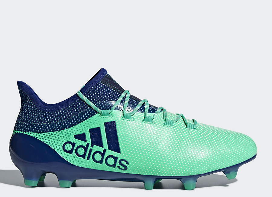 Adidas X 17.1 FG Deadly Strike - Aero Green / Unity Ink / Hi-Res Green