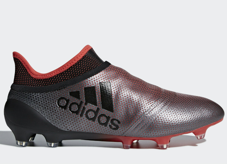 Adidas X 17+ Purespeed FG Cold Blooded - Grey / Core Black / Real Coral