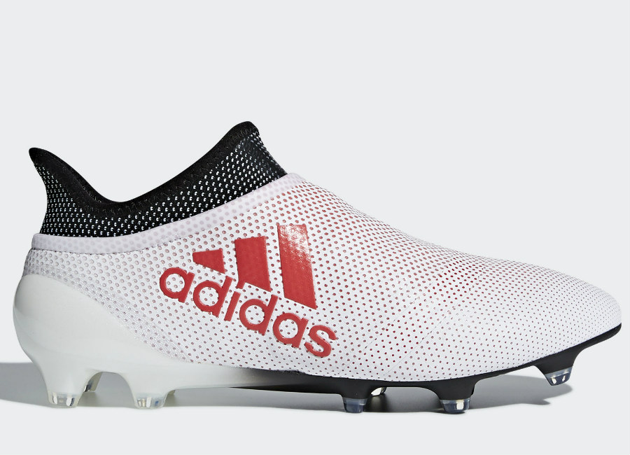 Adidas X 17+ Purespeed FG Cold Blooded - Grey / Real Coral ...