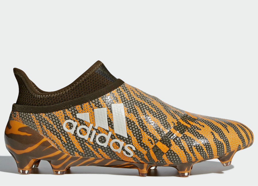 Adidas X 17+ Purespeed Lone Hunter FG - Bright Orange / Talc / Trace Olive