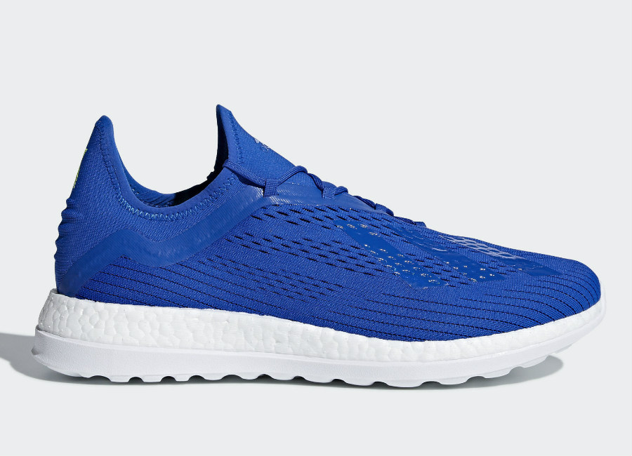 Adidas X 18+ Energy Mode Trainers - Football Blue / Football Blue / Solar Yellow