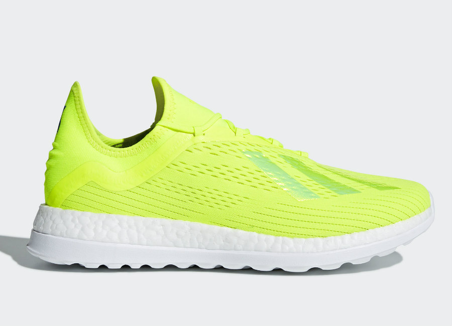 Adidas X 18+ Energy Mode Trainers - Solar Yellow / Solar Yellow / Ice Yellow