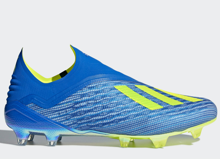 Adidas X 18+ FG Energy Mode - Football Blue / Solar Yellow / Core Black