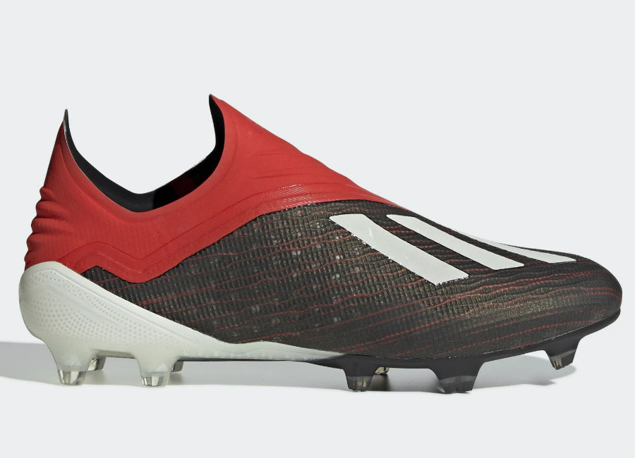 Adidas X 18+ FG Initiator - Core Black / Ftwr White / Active Red