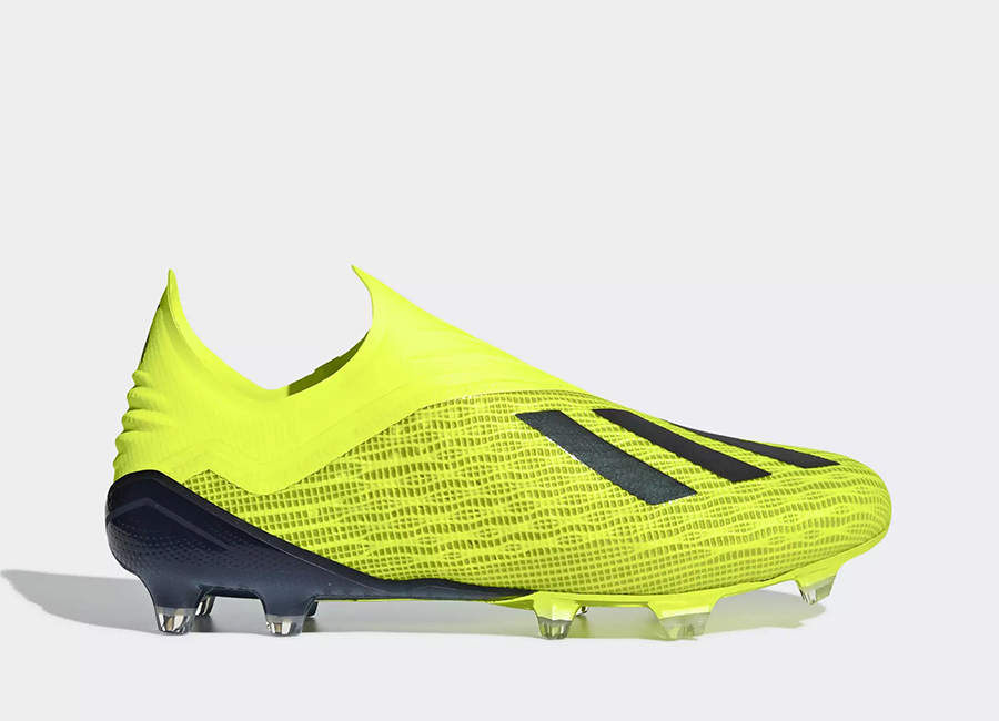 Adidas X 18+ FG Team Mode - Solar Yellow / Core Black / Ftwr White
