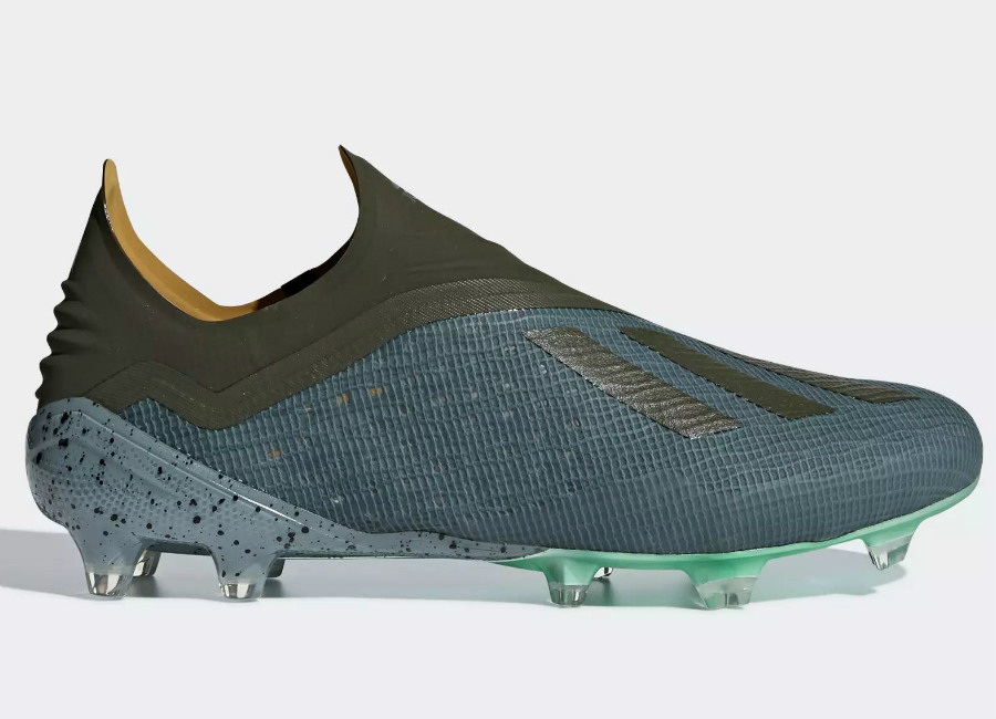 Adidas X 18+ FG Cold Mode - Raw Green / Night Cargo / Clear Mint