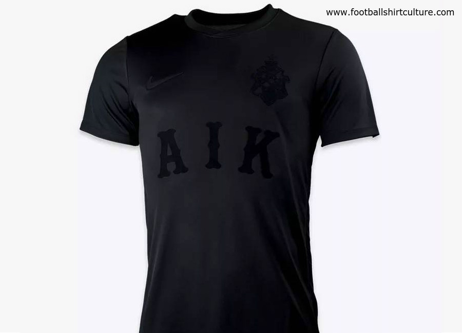 AIK 2018 All Black Special Edition Stadium Kit