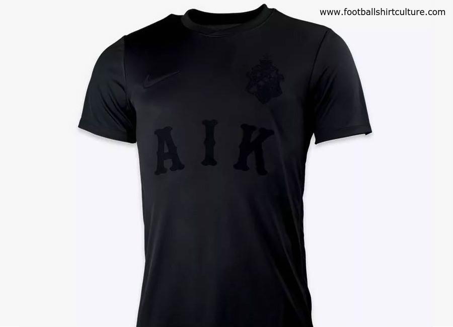 02e3be3ec885 AIK 2018 All Black Special Edition Stadium Kit