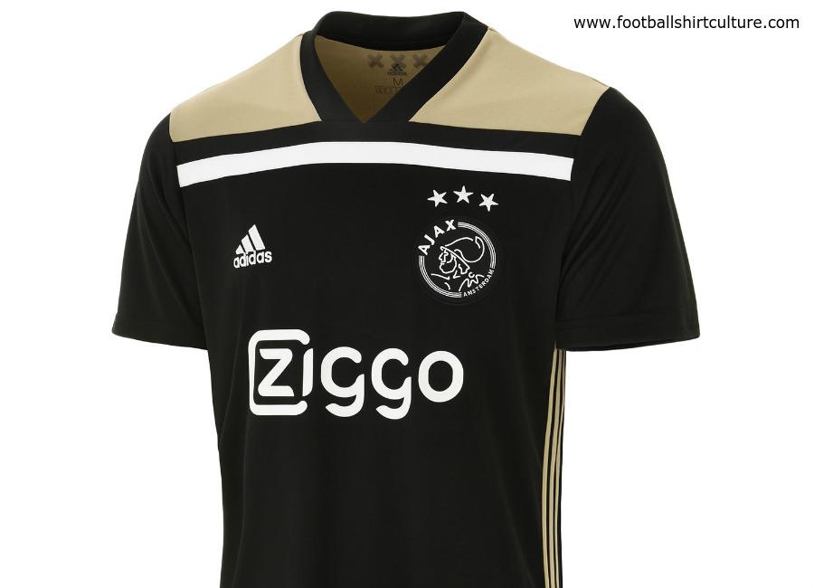 26d4b524c Ajax 18 19 Adidas Away Kit. Classic Shirts